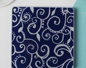 Swirl Coaster set of 4