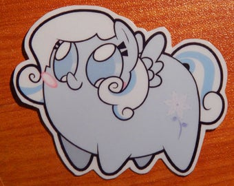 Pony Chubs! Snowdrop Sticker