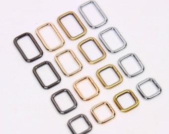 1 pc -Rectangular Rings/Split Loop Rings/Slide Buckle