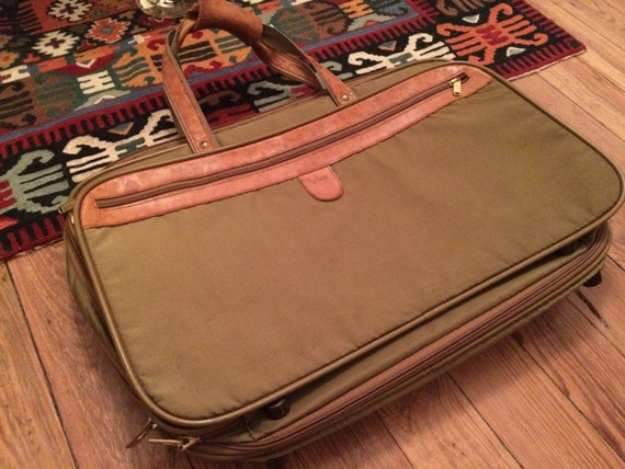 Hartmann Luggage Vintage Hartmann Bag Overnight Bag Tote Bag
