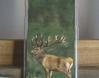 Stag Phone Case by Grace Scott