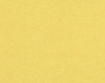 Yellow Fabric, Broadcloth Fabric,  Cotton fabric, quilting fabric, fabric by the Yard