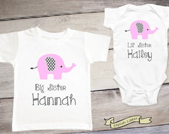 Big Sister Little Sister Outfits, Big Sister Little Sister Shirts, Matching Sister Outfits