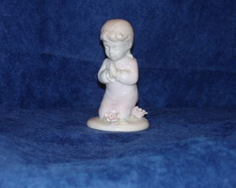 Praying Child Ceramic