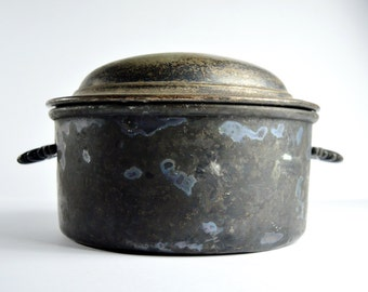 Tureen Vintage Casserole Serving Dish Elkington Monarchy Plate Casserole The London Casino Stew Pot Silver Plate Casserole
