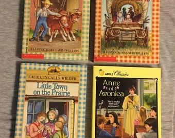 Laura Ingalls Wilder Little House on the Prairie Big Woods Little Town Farmer Boy Silver Lake Long Winter L. M. Montgomery Anne of Avonlea