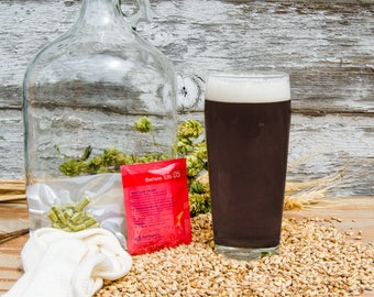 Black IPA Do It Yourself 1-gallon All Grain Recipe Kit