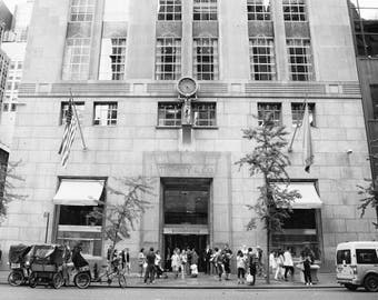 Tiffanys, New York Photography, 5th Avenue, Tiffany and Company, Black and White Photography, NYC, Shopping, Girls Room Decor, Wall Art