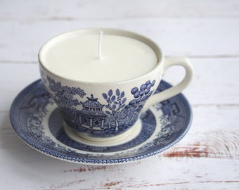 Teacup Candle - Soy Candle - Tea cup Candle - Mother's Day