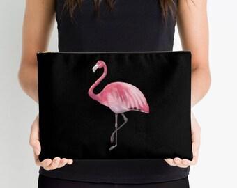 Flamingo Accessory Case Pouch Cosmetic bag Purse Clutch Accessory Makeup Bag