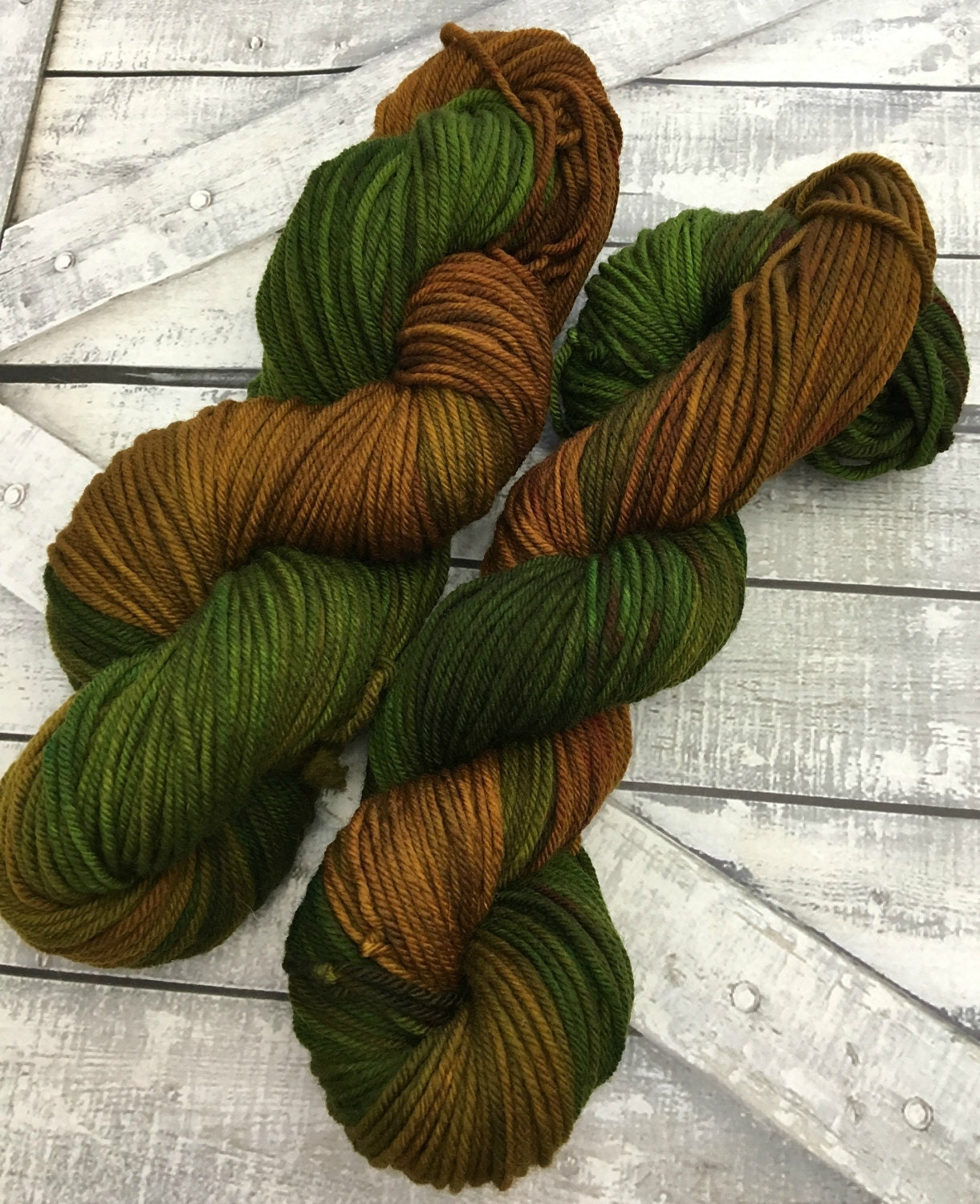 Hand Dyed Yarn - The Haunted Forest of Oz,Spike Base,Worsted Weight,4 ply,100 Superwash Merino,100 grams,indie dyed yarn,The Wizard of Oz