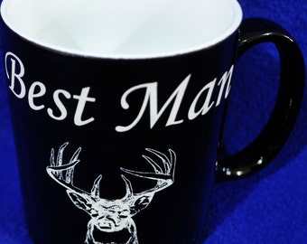 Best Man Gift ~ Groomsmen Gifts ~ Custom Coffee Mug ~ Wedding Party Gifts ~ Father Of The Groom ~ Father Of The Bride ~ Coffee Mugs ~ Gifts