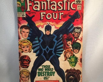 1966 #46 Fantastic Four #46 - First Appearance of Black Bolt