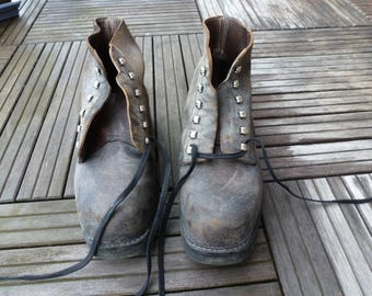 Switzerland 28-67 G series horse leather work boots/boots