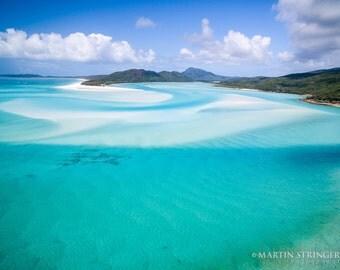 Whitehaven Paradise, Whitsundays, Whitsunday Island, Photography Fine ART print
