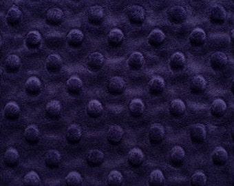 Eggplant Deep Purple Blanket All Sizes of Blankets Solid Choose Color For Back