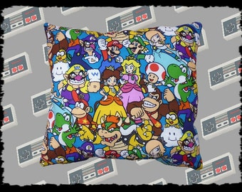 Nintendo Game Characters Cushion