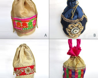 Jewelry Pouch bag, bridesmaids' gift pouch bag, thank you gift bag, surprise gift pouch bag - 6 by 9 inches | Bulk Orders Welcome