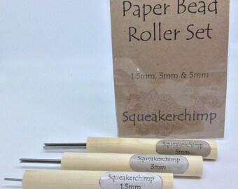 Paper Bead Roller Set, Paper Bead Tool Set, Paper Bead, 1.5mm, 3mm, 5mm, Bead Tool, Beads, Jewelry Making, Bead Making, Eco Crafts