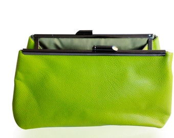 Go Green - Leather Clutch