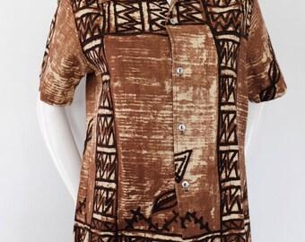 SALE* Vintage collared shirt 1980s sz womens medium