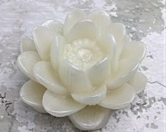 Lotus Flower Soap , Glycerin Soap, Shaped Soap , Gift for Her , Gift under 10 , Gift under 15 , Gift