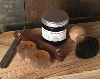 Mens Shaving Kit, Mens Grooming Kit, Valentines Gift Set, Gift for Dad, Shaving Gift, Groomsmen Gift, for him, Mens Shave Set