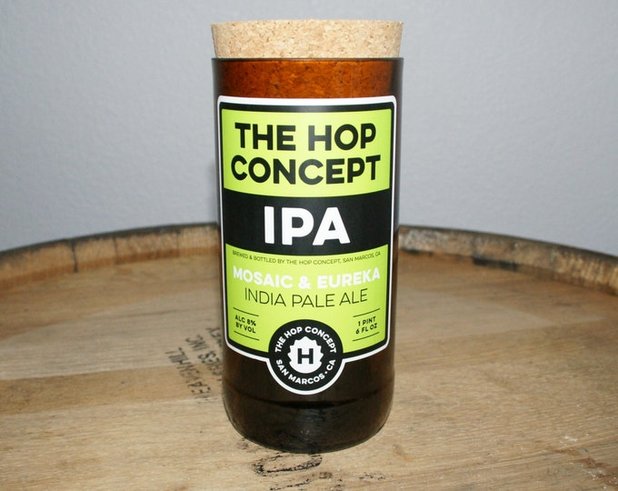 UPcycled Stash Jar - The Hop Concept - IPA