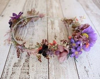 Wreath - Purple