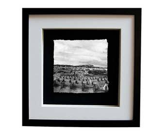 BELFAST CITY - Porcelain Landscape Northern Ireland Scene H&W Cave Hill