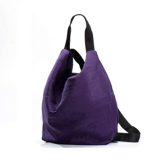 purple backpack canvas backpack bag gym backpack sack bag