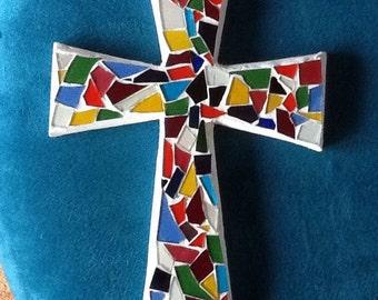 Med mosaic cross