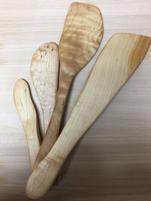 Wooden kitchen utensil set. Wonderful Kitchen Gift, Christmas gift ...
