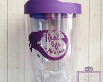 Real Life Mermaid 10oz wine tumbler