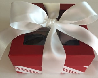 Gift Box for Women - Birthday Gift Box Set - Handmade Soap - All Natural Soap - Candy Apple - All Occasion Gift Set - Artisan Soap - Natural