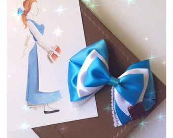 Provincial Town Belle inspired bow - Beauty and the Beast inspired