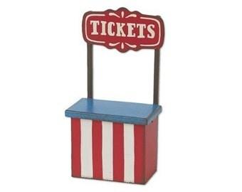 Fairy Garden  - Mini Ticket Booth - Miniature