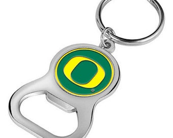Oregon Ducks Keychain Bottle Opener