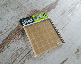Acrylic  stamping block