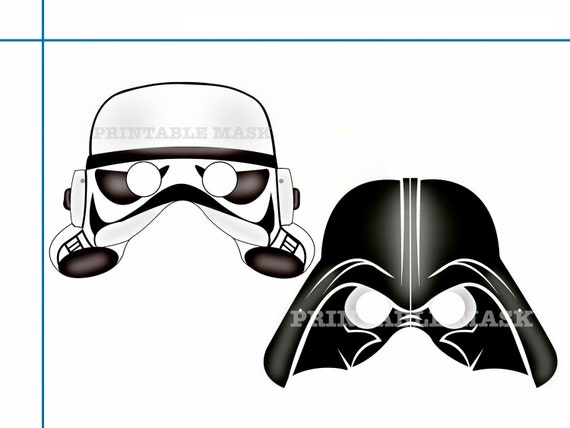 Represent the Empire's side with Darth Vader and Stormtrooper masks | Geeky Photo Booth Props ...