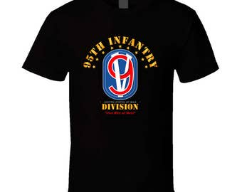 95th Infantry Division - Iron Men Of Metz T Shirt