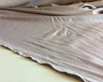 """4-ply Rayon Crepe with stretch and sateen finish in Mauve, price is per Yard, 49"""" wide"""