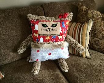Cat Lover Pillow Buddy