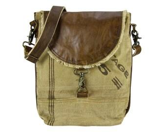 Sunsa woman Messenger bag cross body canvas bag Artno.: 51822
