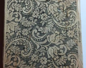 Stampin Up 1997 Victorian Lace (paisley)