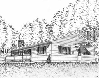 Custom Church or Home Drawing