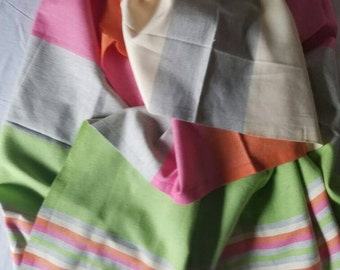 Hand Woven 100% Natural Cotton Colorful Scarf,Shawl,Bath Towel,Tablecloth.....