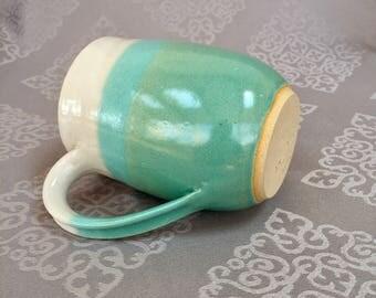 Handmade Ceramic Stoneware Mug 16oz