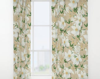 Magnolia Curtains Etsy