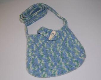 Watercolors Crossbody purse  ~ Ready to ship